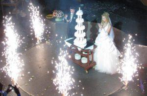 Салют на свадьбу