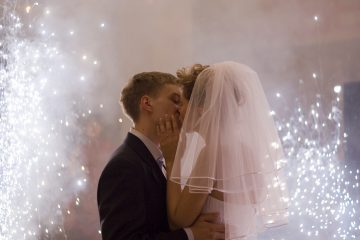 Заказать фейерверк на свадьбу