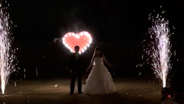 Огненные сердца картинка