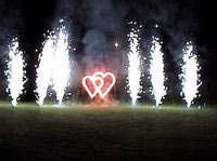 Картинка огненные сердца