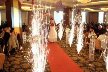 картинка свадебные фонтаны дорожка
