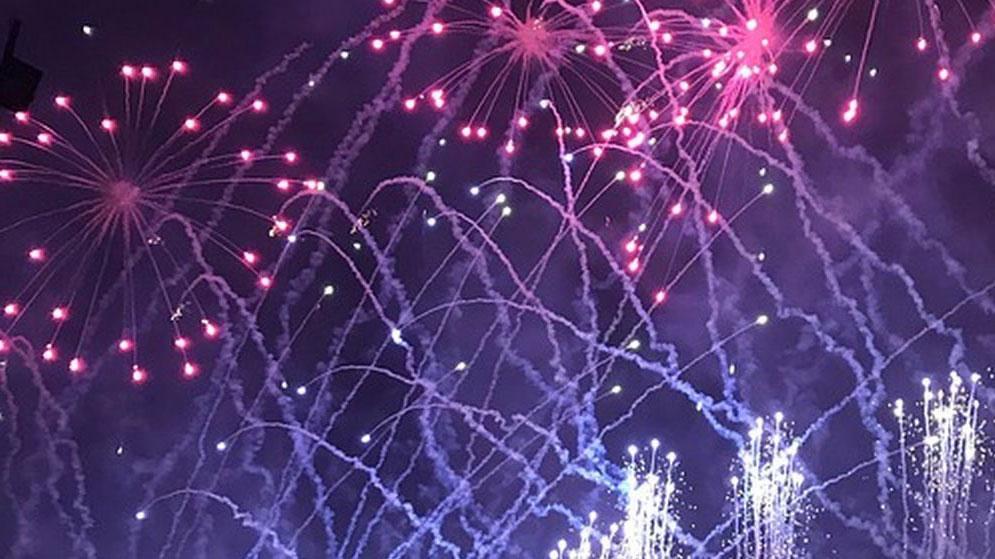 Салют на Новый год Киев картинка