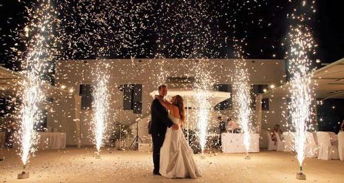картинка сценическая пиротехника свадьба